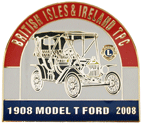 Model T Ford pin