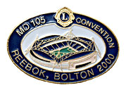 Lions pin 08