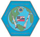 Pioneers in Space pin