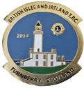 Turnberry 2014 pin