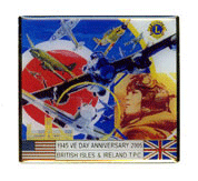 VE Day pin